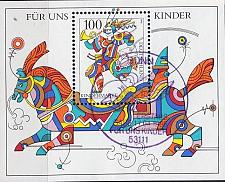 Buy GERMANY BUND [1996] MiNr 1853 Block 35 ( Sonder-O/used )