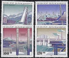 Buy GERMANY BUND [1993] MiNr 1650-53 ( **/mnh ) Olympiade