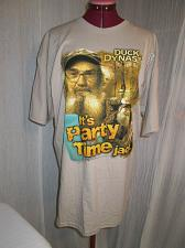 Buy Duck Dynasty Graphic T Shirt Uncle Si It's party time Jack Tan Beige Men Size XL
