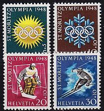 Buy SCHWEIZ SWITZERLAND [1948] MiNr 0492-95 ( **/mnh ) Sport