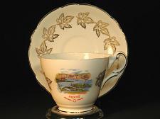 Buy Vintage Teacup and Saucer Expo 67 Royal Darwood Vintage Fine Bone China