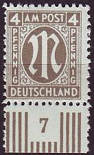 Buy GERMANY Alliiert AmBri [1945] MiNr 0018 C ( **/mnh )