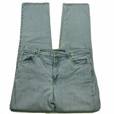 Buy Gloria Vanderbilt Amanda Tapered Leg Jeans Size 12 High Waist Light Blue Wash