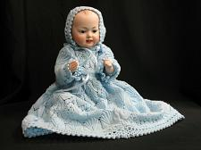 Buy Antique Artist Reproduction Vernon Seeley TWO FACED Bisque Porcelain Doll