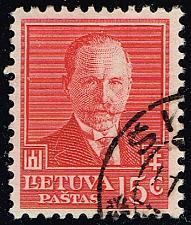 Buy Lithuania #283 Pres. Antanas Smetona; Used (3Stars) |LIT0283-01XRP