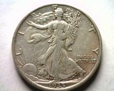 Buy 1935-S WALKING LIBERTY HALF VERY FINE /EXTRA FINE VF/XF VERY FINE/EXTREMELY FINE