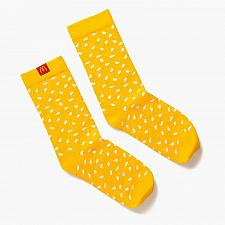 Buy New Mcdonald World Famous Sesame Seed Socks One Size Fits most Free Shipping