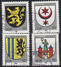 Buy GERMANY DDR [1984] MiNr 2857 ex ( OO/used ) [01] Wappen