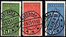 Buy DÄNEMARK DANMARK [1929] MiNr 0177-79 ( O/used ) [01]