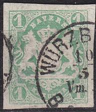Buy GERMANY Bayern Bavaria [1867] MiNr 0014 a ( O/used ) [03]