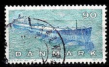 Buy DÄNEMARK DANMARK [1970] MiNr 0504 ( O/used ) Schiffe
