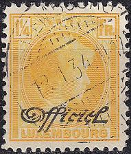 Buy LUXEMBURG LUXEMBOURG [Dienst] MiNr 0172 ( O/used )