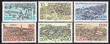 Buy GERMANY DDR [1988] MiNr 3161-66 ( **/mnh ) Architektur
