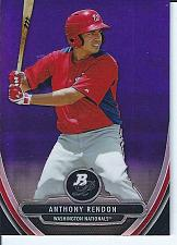 Buy Anthony Rendon 2013 Bowman Platinum Prospect Purple Chrome Refractor