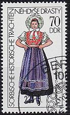 Buy GERMANY DDR [1977] MiNr 2214 ( O/used ) Trachten