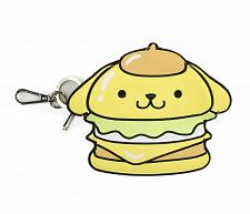 Buy New Hello Kitty Pompompurin Coin Purse Hello Sanrio Burger Free Shipping