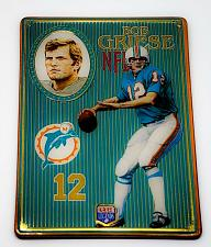 Buy NFL 1993 Metallic Images Quarterback Collection Metal Card #9 BOB GRIESE MNT