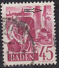 Buy GERMANY Alliiert Franz. Zone [Baden] MiNr 0009 yv I ( O/used ) [02]