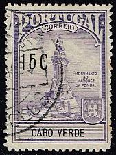 Buy Cape Verde #RA3 Pombal Monument; Used (3Stars) |CPVRA03-01XRS