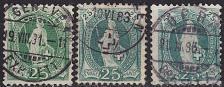 Buy SCHWEIZ SWITZERLAND [1882] MiNr 0059 X A ( O/used ) [03] 3 Farben