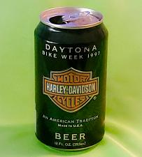 Buy HARLEY-DAVIDSON CERTIFIED DAYTONA BIKE WEEK 1997 COLLECTORS CAN GD/VG