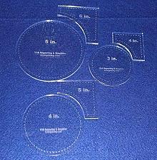 Buy 6 Piece Circle Within Square Set 3