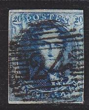 Buy BELGIEN BELGIUM [1851] MiNr 0004 Bz ( O/used ) [01]