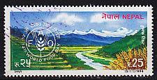 Buy NEPAL [1994] MiNr 0568 ( O/used ) Landschaft