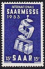 Buy GERMANY Saar [1953] MiNr 0341 ( **/mnh )
