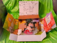 Buy Vintage Mickey Mouse 1993 Puppet Theater Toontown Hand Puppet Mattel Kodak New