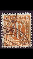 Buy GERMANY Alliiert AmBri [1945] MiNr 0020 A ( O/used )