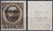 Buy GERMANY Bayern Bavaria [1919] MiNr 0133 II A ( O/used )