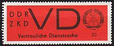 Buy GERMANY DDR [Dienst VD] MiNr 0003 x ( **/mnh )