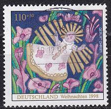 Buy GERMANY BUND [1998] MiNr 2024 ( O/used ) Weihnachten