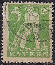 Buy GERMANY Bayern Bavaria [1920] MiNr 0178 ( O/used )
