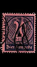 Buy GERMANY REICH Dienst [1922] MiNr 0072 ( O/used )