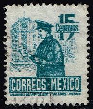 Buy Mexico #825 Postman; Used (0.25) (4Stars) |MEX0825-03XRS