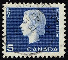 Buy Canada #405 Queen Elizabeth II and Wheat; Used (2Stars) |CAN0405-14