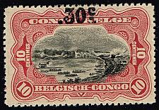 Buy Belgian Congo #77 Stanley Falls on Congo River; Unused (3Stars) |BCO077-01XRS