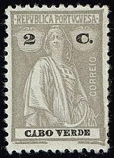 Buy Cape Verde #178 Ceres; Unused (2Stars) |CPV0178-02XRS