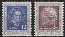 Buy GERMANY DDR [1952] MiNr 0300-01 ( **/mnh )