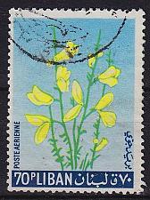 Buy LIBANON LEBANON LIBAN [1964] MiNr 0862 ( O/used ) Blumen