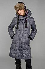 Buy Steve by Searle Pillow Collar Down Coat Women size Small Long