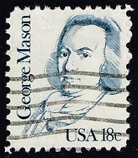 Buy US #1858 George Mason; Used (3Stars) |USA1858-06