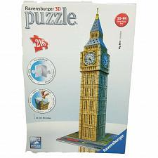 Buy Ravensburger 3D 216 Piece Puzzle Big Ben London Clock Architecture 2011 Complete