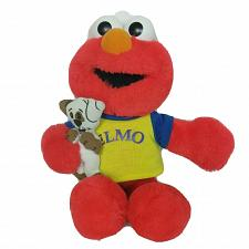 "Buy Fisher Price My Elmo Talking Sesame Street Dog Plush Stuffed Animal 2002 15.5"""