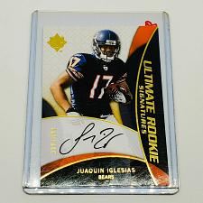 Buy NFL JACQUE IGLESIAS CHICAGO BEARS AUTOGRAPHED 2009 UPPER DECK ULTIMATE RC /399