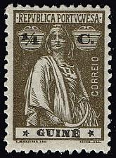 Buy Portuguese Guinea #160 Ceres; Unused (4Stars) |POU0160-01XRS