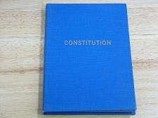 Buy 1958 Constitution Masonic Grand Lodge of Manitoba Canada Excellent Used Cond