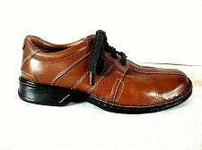 Buy Clarks Collection Brown Leather Casual Lace Up Oxford Shoes Men's 7.5 M (SM1)